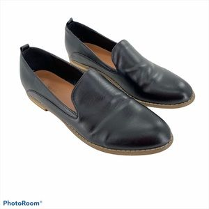 INDIGO RD   Black Hestly Loafers Shoes Women's